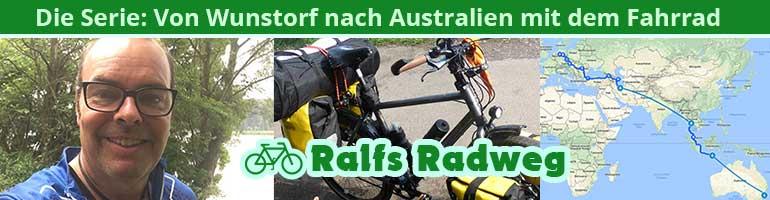 Ralfs Radweg: Von Wunstorf nach Australien mit dem Fahrrad