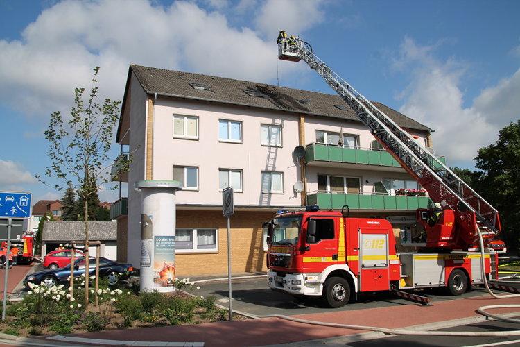 Photo of Dachstuhlbrand in Luthe abgewendet
