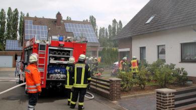 Bild von Feuerwehr verhindert Gebäudebrand