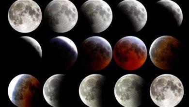 Bild von Blutmond: So erlebten die Wunstorfer die Mondfinsternis