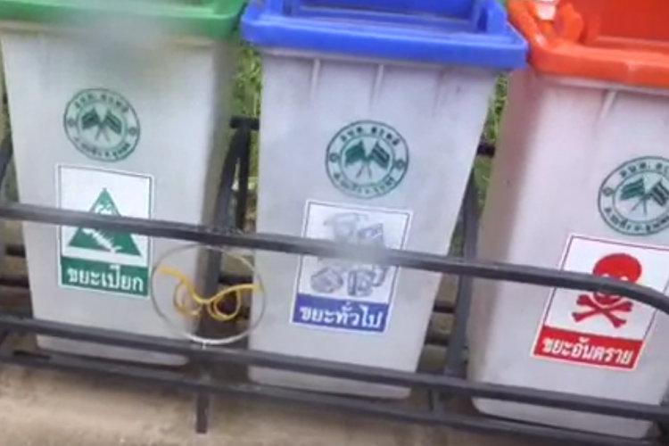 Recycling auf Thailändisch