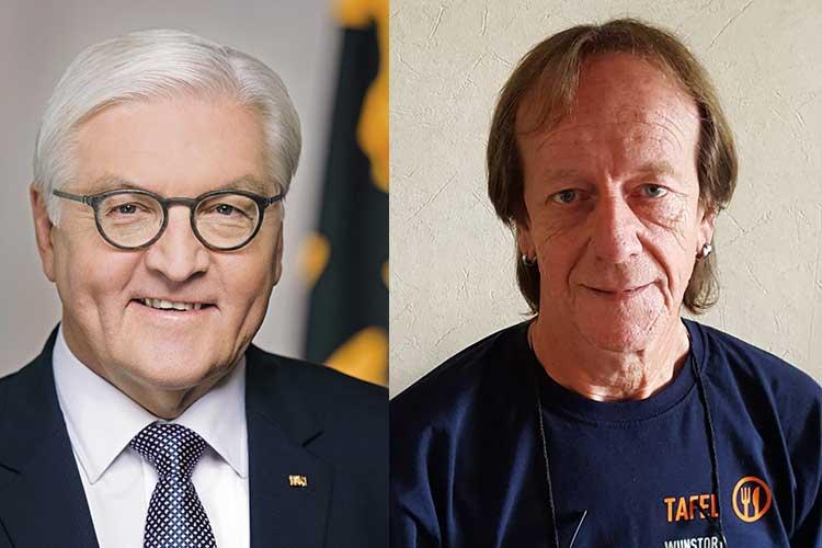 Frank Walter Steinmeier und Frank Löffler