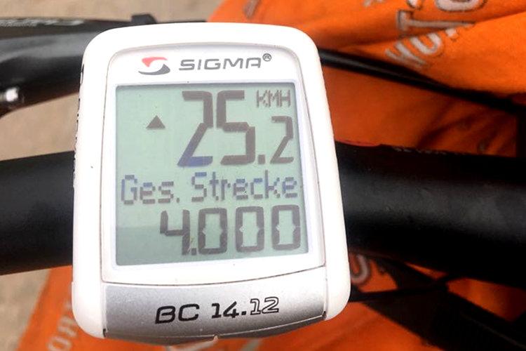 4000 Kilometer geschafft