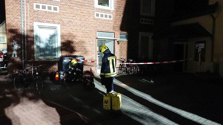 Feuerwehreinsatz Sachsenhagen