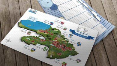 Bild von Auepost verteilt Stundenpläne mit Stadtkarten