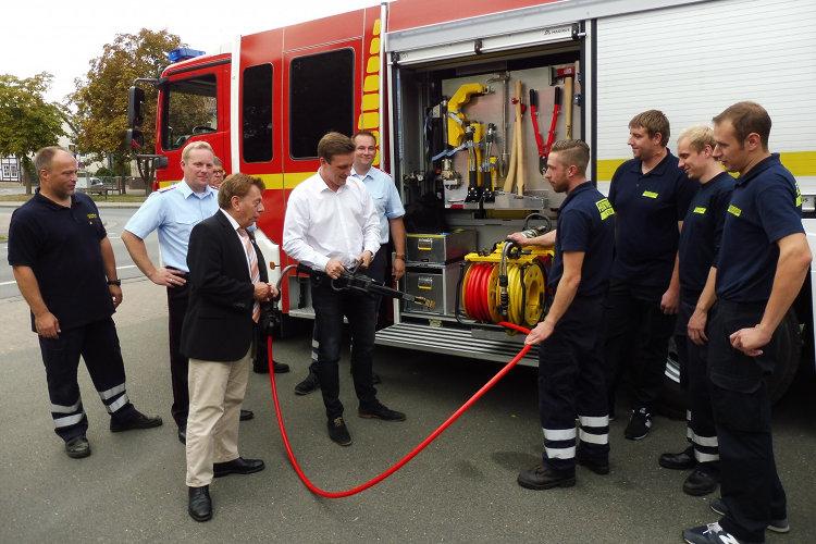 Besuch bei der Feuerwehr Wunstorf