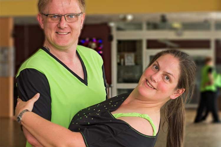 Nicole und Thorben Rump sind norddeutsche Meister im Discofox
