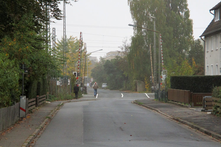 Bahnübergang Luther Weg