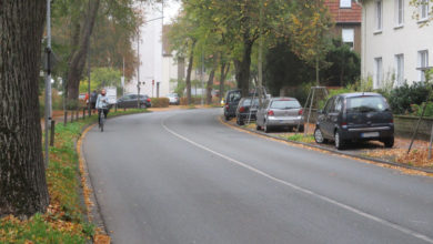Bild von Hindenburgstraße soll Fahrradmarkierungen bekommen