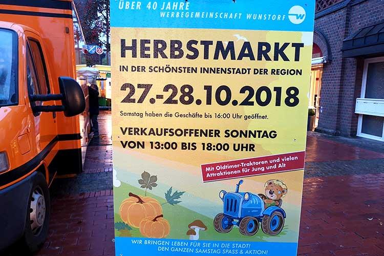 Werbegemeinschaft Herbstmarkt 2018
