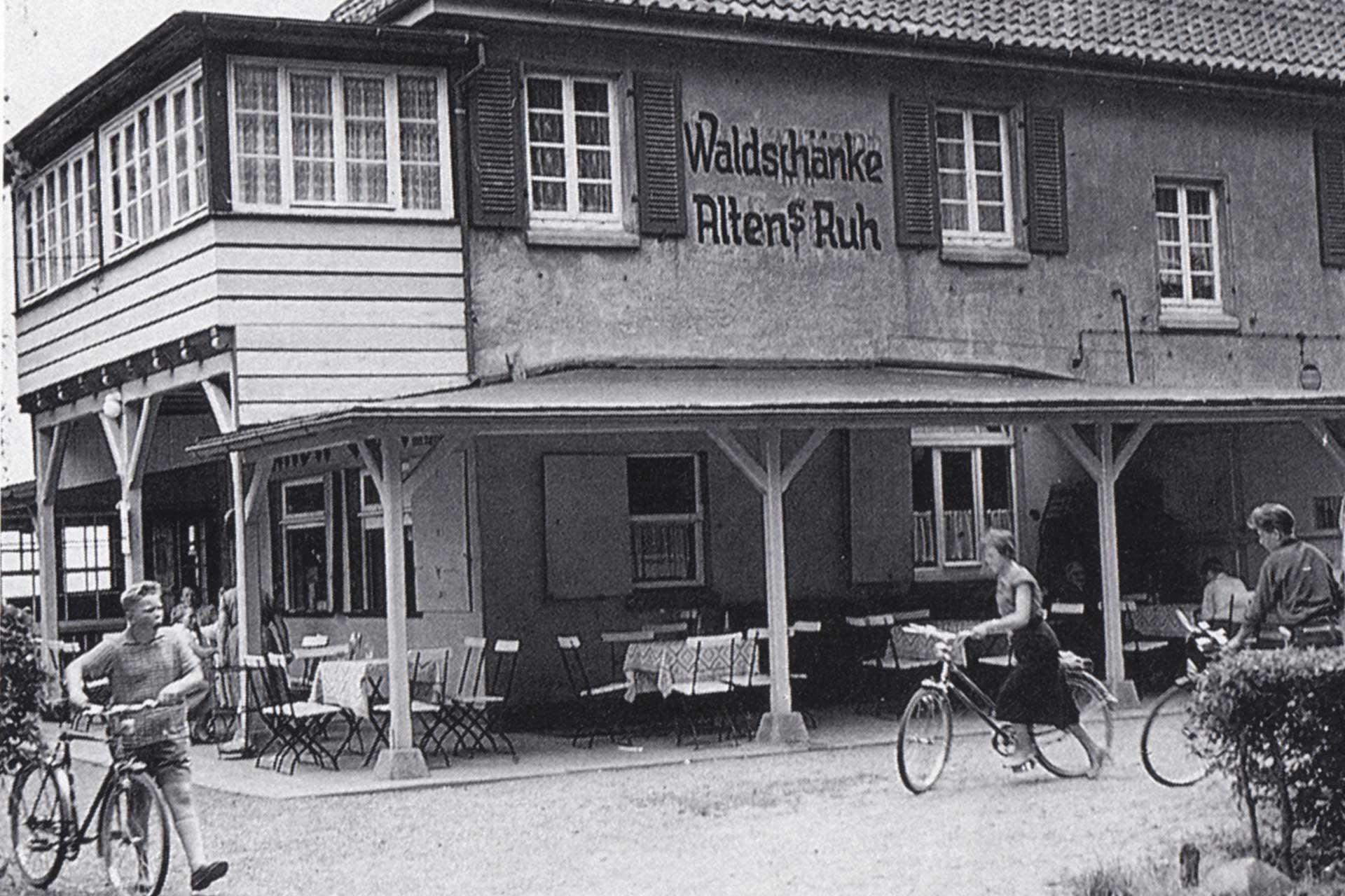 Historisches Foto Alten's Ruh in Wunstorf