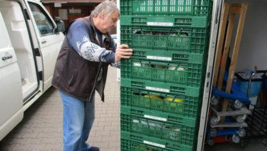 Bild von Lebensmittelausgabe bei der Tafel Wunstorf wird eingestellt
