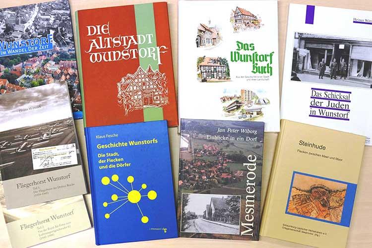 Ein Buch über Wunstorf als Weihnachtsgeschenk