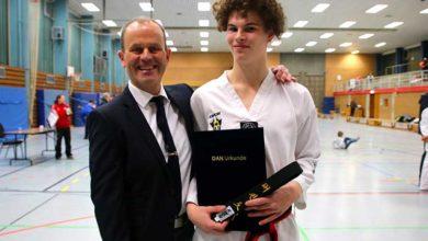 Bild von Schwarzgurt für Sportler des TSV Klein Heidorn