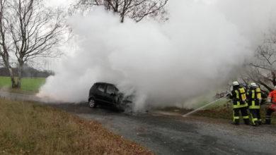 Bild von Fahrzeugbrand in Otternhagen