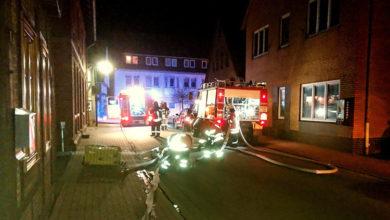 Bild von Brennende Weihnachtskrippe beschädigt Pizzeria