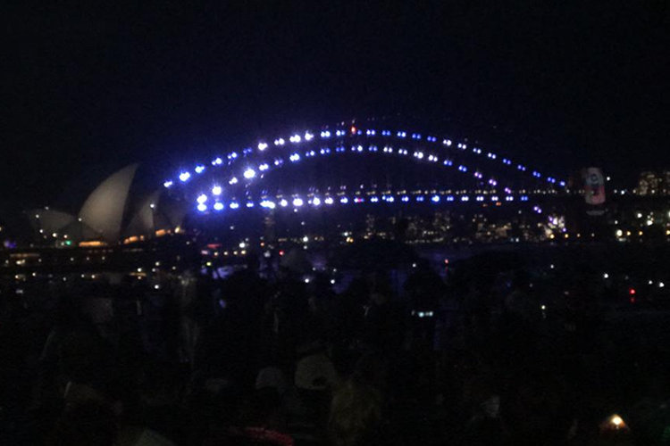 Harbour Bridge Silvester