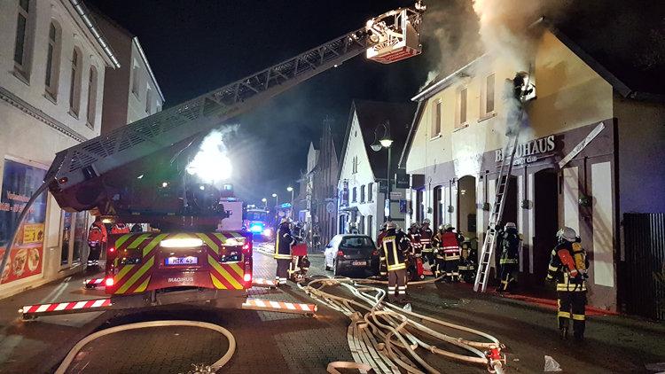 Feuer Leinestraße