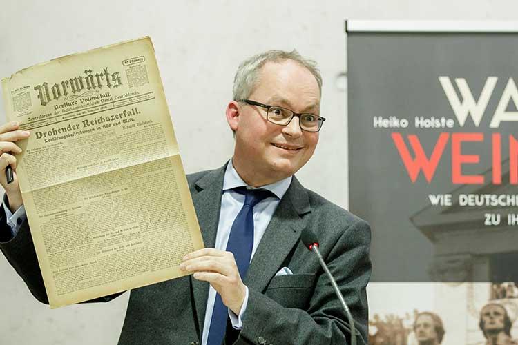 Photo of Vortrag über Weimarer Republik