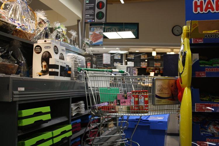 Marktkauf-Einkaufswagen