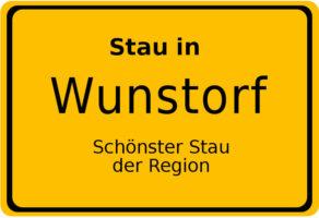 Stau in Wunstorf