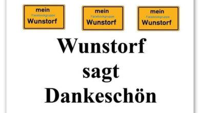 """Bild von Aktion """"Wunstorf sagt Danke"""" ist angelaufen"""