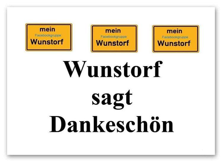 Wunstorf sagt Danke schön