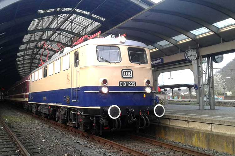 Historische E-Lok E 10 1239