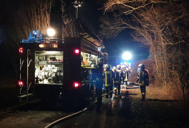 Einsatz Feuerwehr Luthe