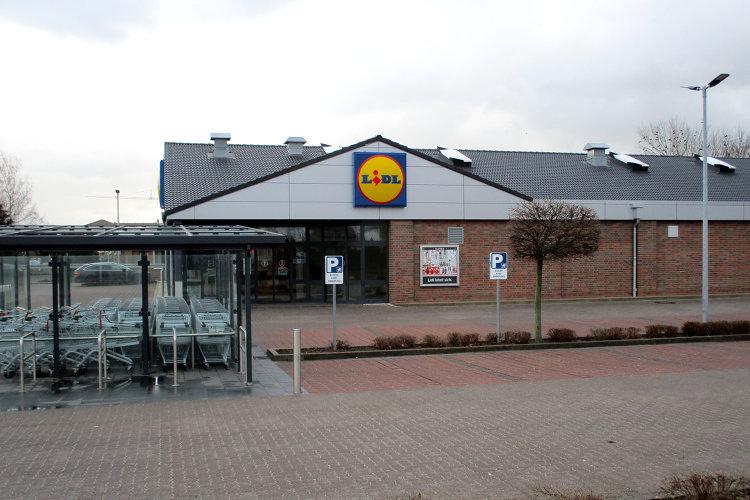 Lidl-Supermarkt