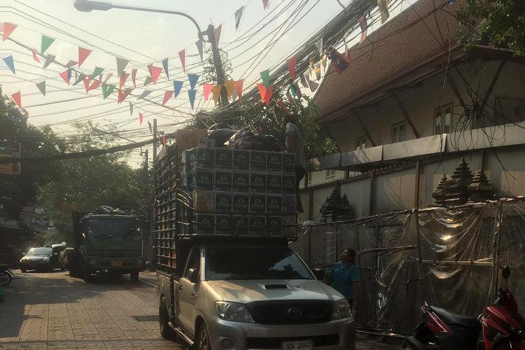 Straße Thailand