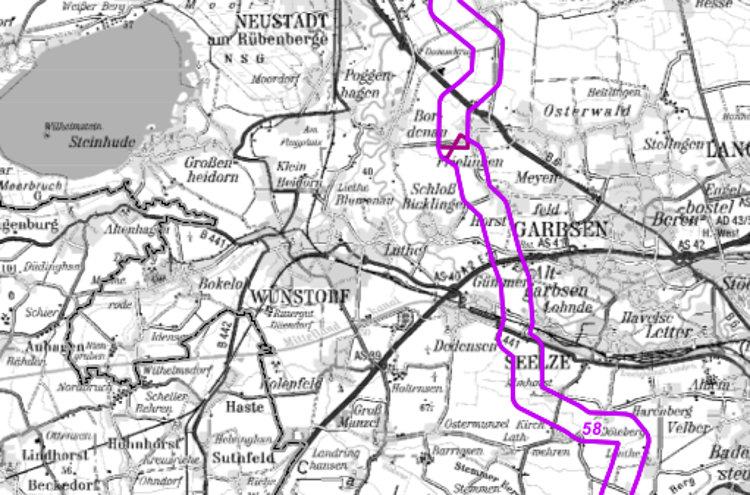 SuedLink-Verlauf westlicher Vorschlag