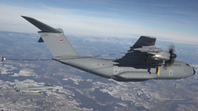 Bild von Wunstorfer A400M nun im IS-Einsatz unterwegs