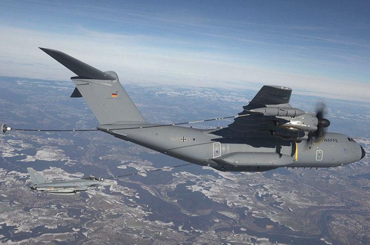 A400M Luftbetankung