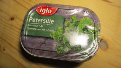 Bild von Rückruf von Iglo-Tiefkühlpetersilie