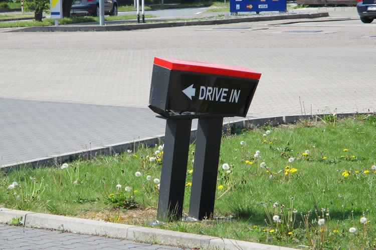 Drive-in defekt
