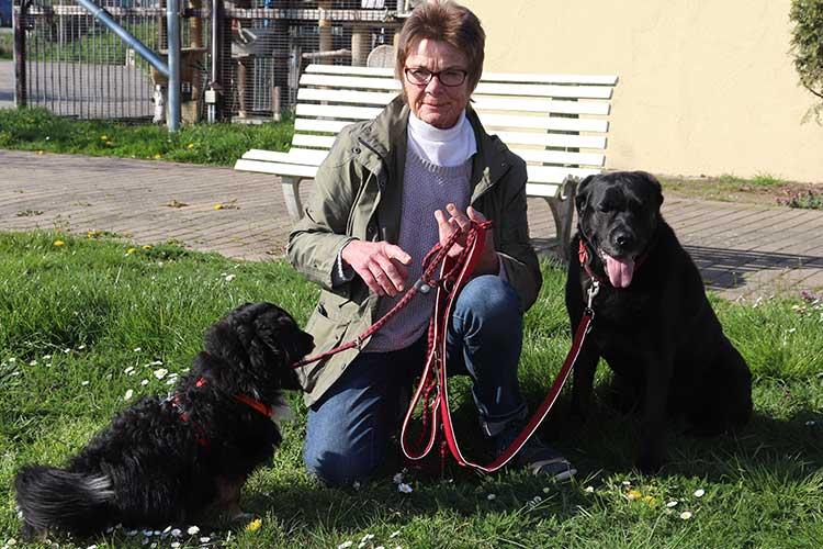 Marita Röwer, begeistere Hundeliebhaberin