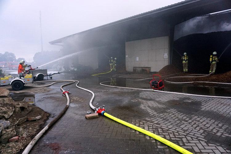 Lagerhallenbrand