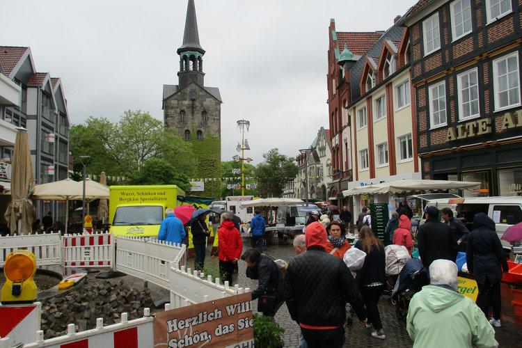 Markt in Wunstorf