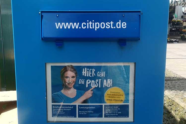 Briefkasten Citipost