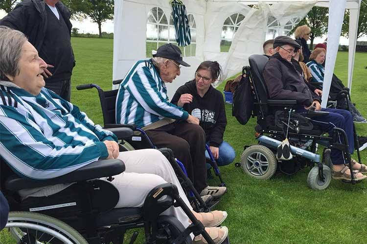 Senioren besuchen Spiel des TSV Klein Heidorn