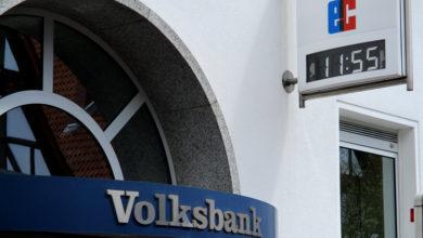 Bild von Volksbank-Geldautomaten bleiben nicht