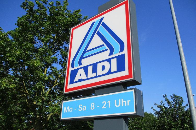 Aldi-Schild