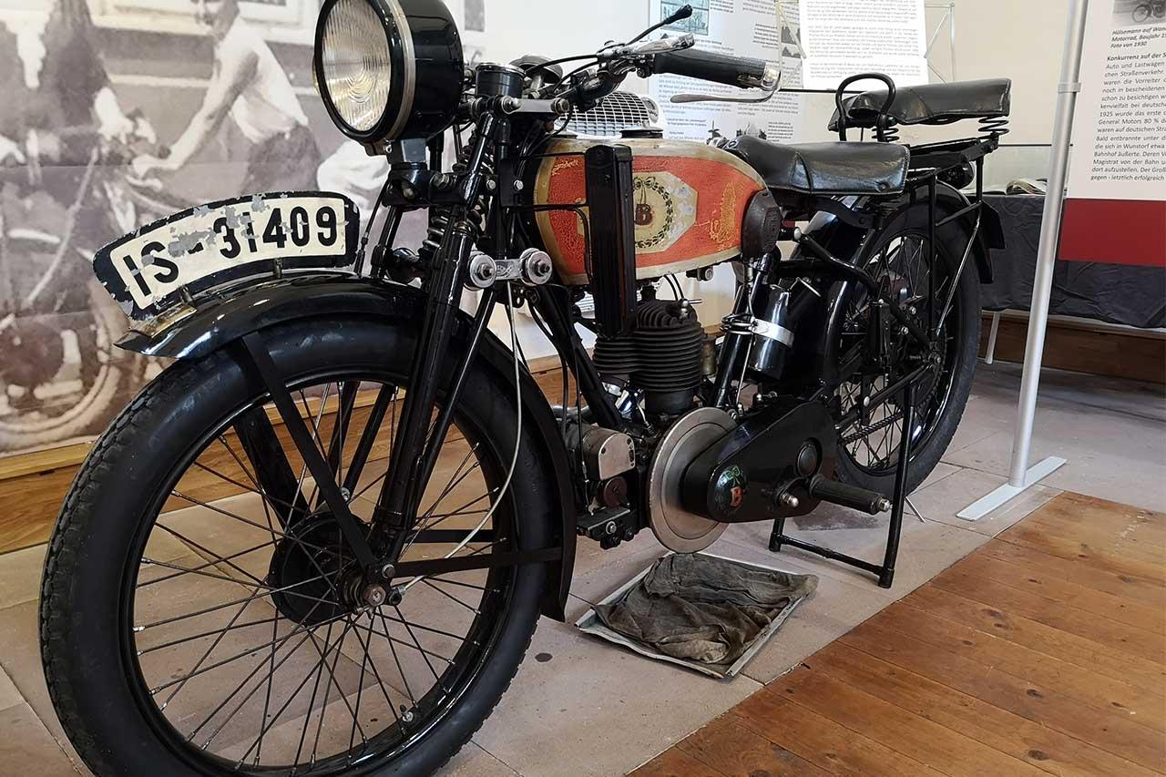 Bodmann-Motorrad von 1928