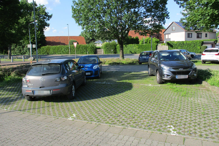 Parkplätze in Wunstorf