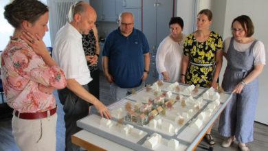 Bild von Wiebke Osigus auf Sommertour beim Wunstorfer Bauverein
