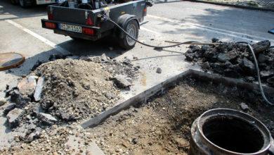Bild von Unterspülte Kolenfelder Straße wird nun repariert