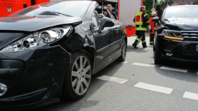 Bild von Schwerer Abbiegeunfall an der Hochstraße