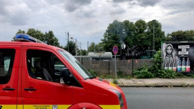 """Bild von Feuerwehr wird zu """"brennender"""" Dampflok gerufen"""