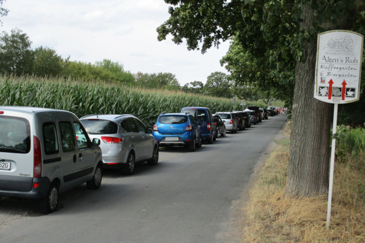 Parkplätze ab Obi